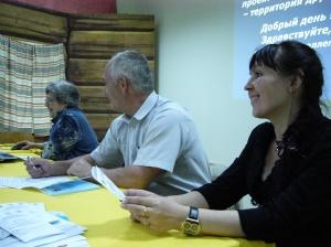 М.В.Носкова на круглом столе 22.05.2012