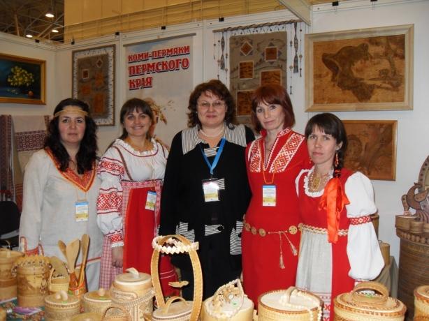 Мастера из коми-пермяцкого этнокультурного центра